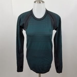 Lululemon About That Base Long Sleeve Shirt 2 Teal